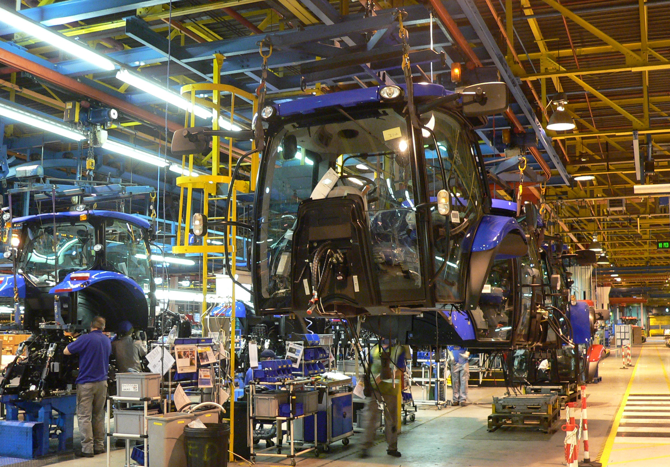 Cab-To-Tractor-Assembly