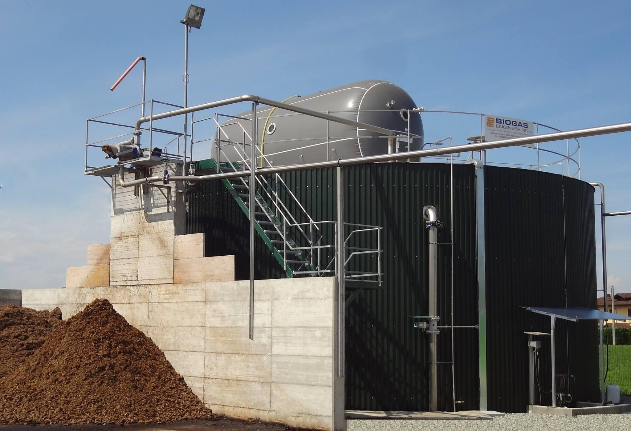 Mini-biogas