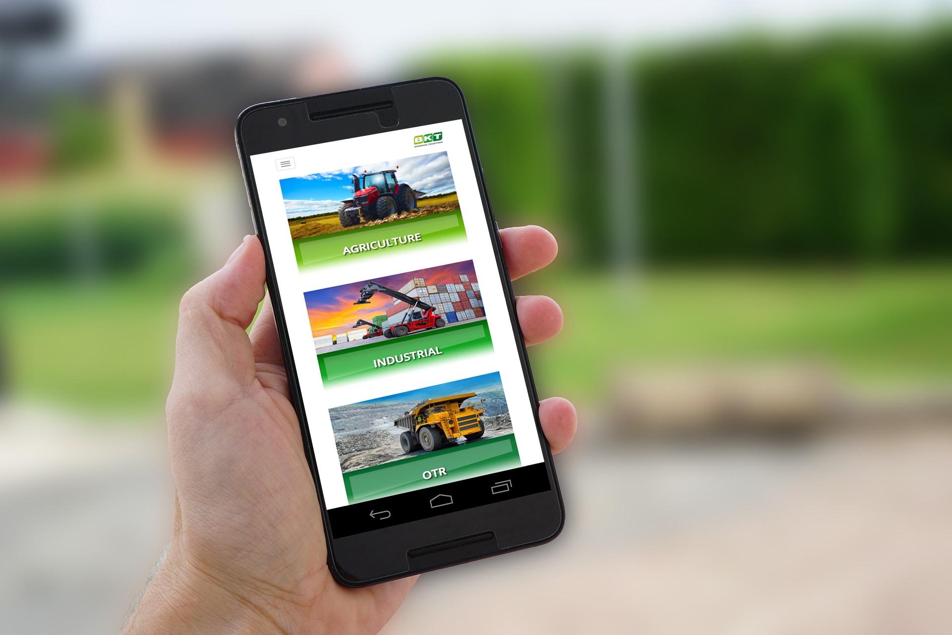Online la nuova versione del sito bkt per dispositivi for Sito mobili online