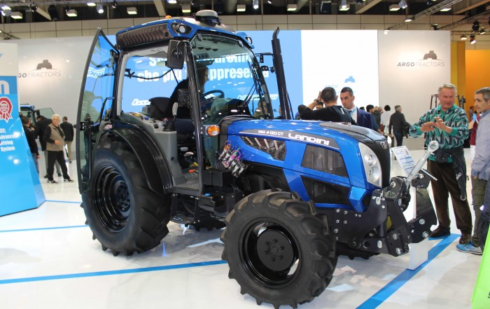 Landini Rex 4 - Advanced Driving System