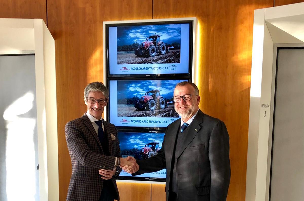 Accordo tra Argo Tractors e la Confederazione Agromeccanici e Agricoltori Italiani (Cai)