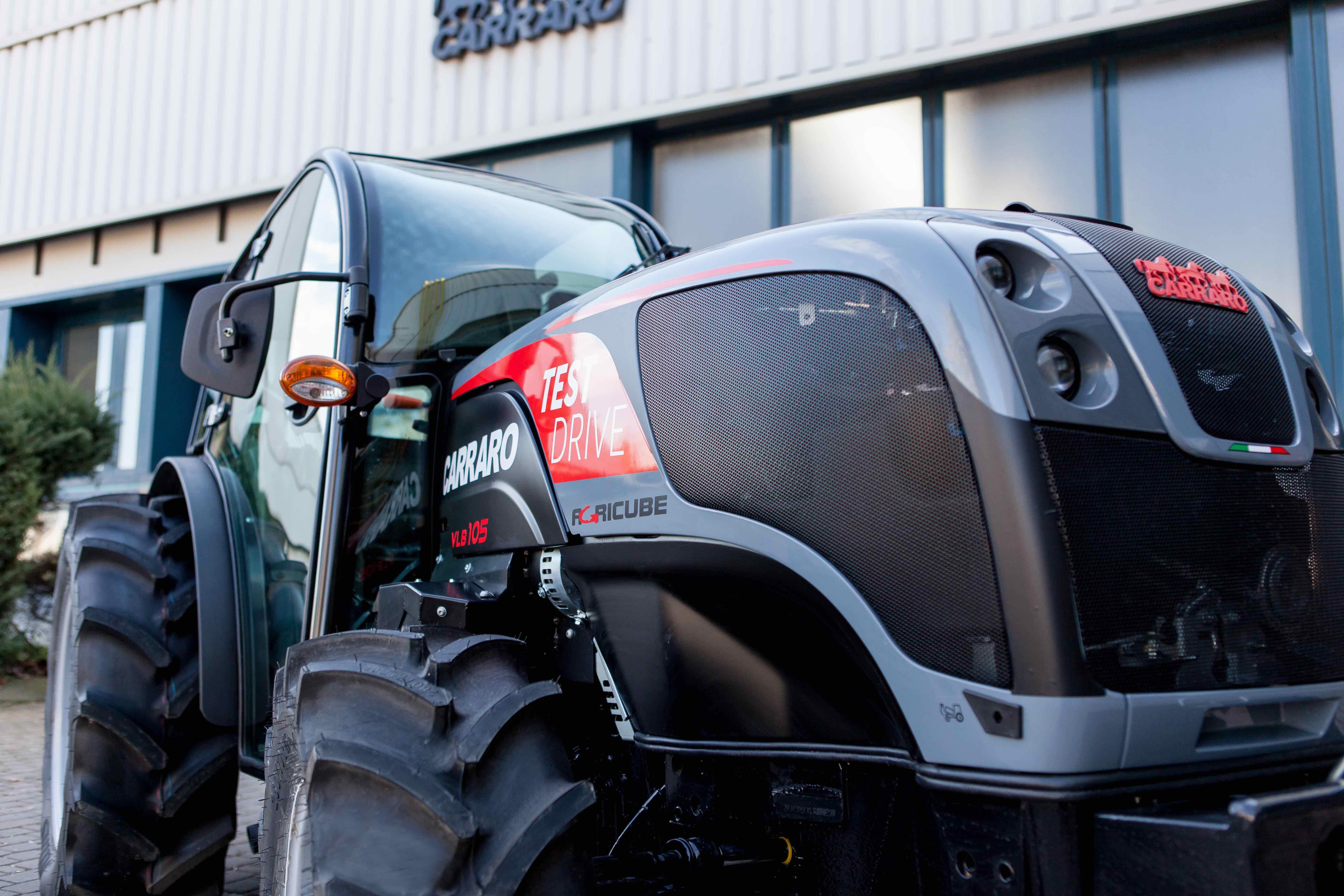 Carraro Tractors 'Test Drive'