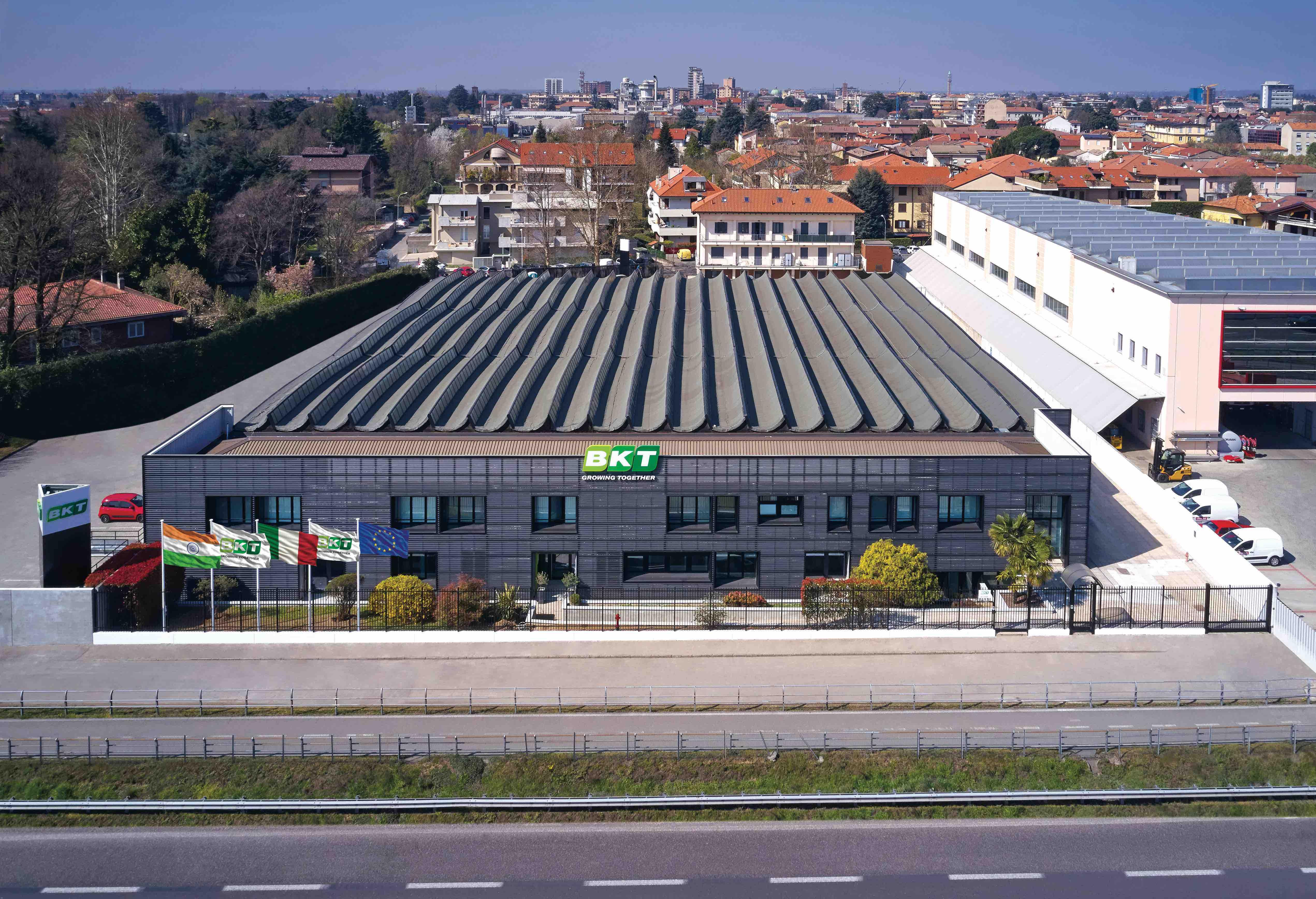 BKT - Nuovasede europea a Seregno