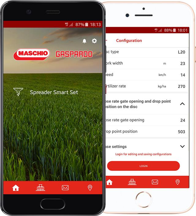 'My Maschio Gaspardo', la nuova funzione 'Spreader Smart Set'