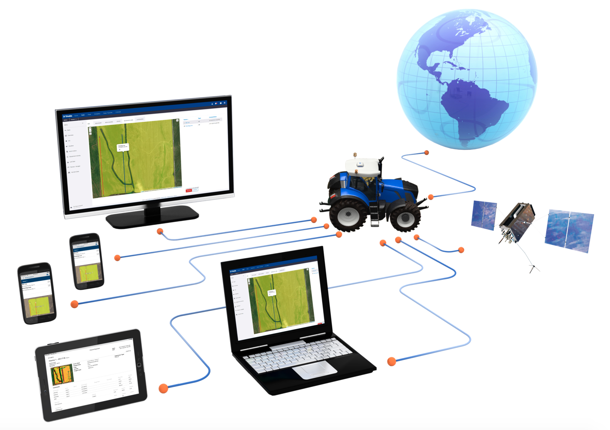 Trimble lancia il bundle Farmer Core con la funzione AutoSync