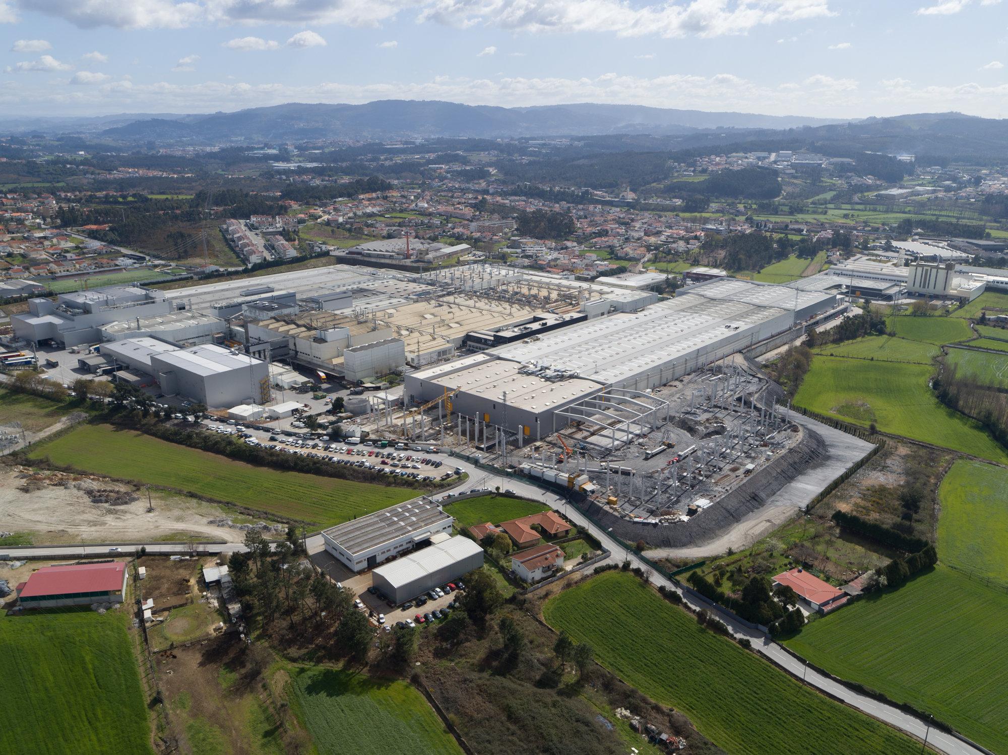 Continental amplia lo stabilimento portoghese di Lousado