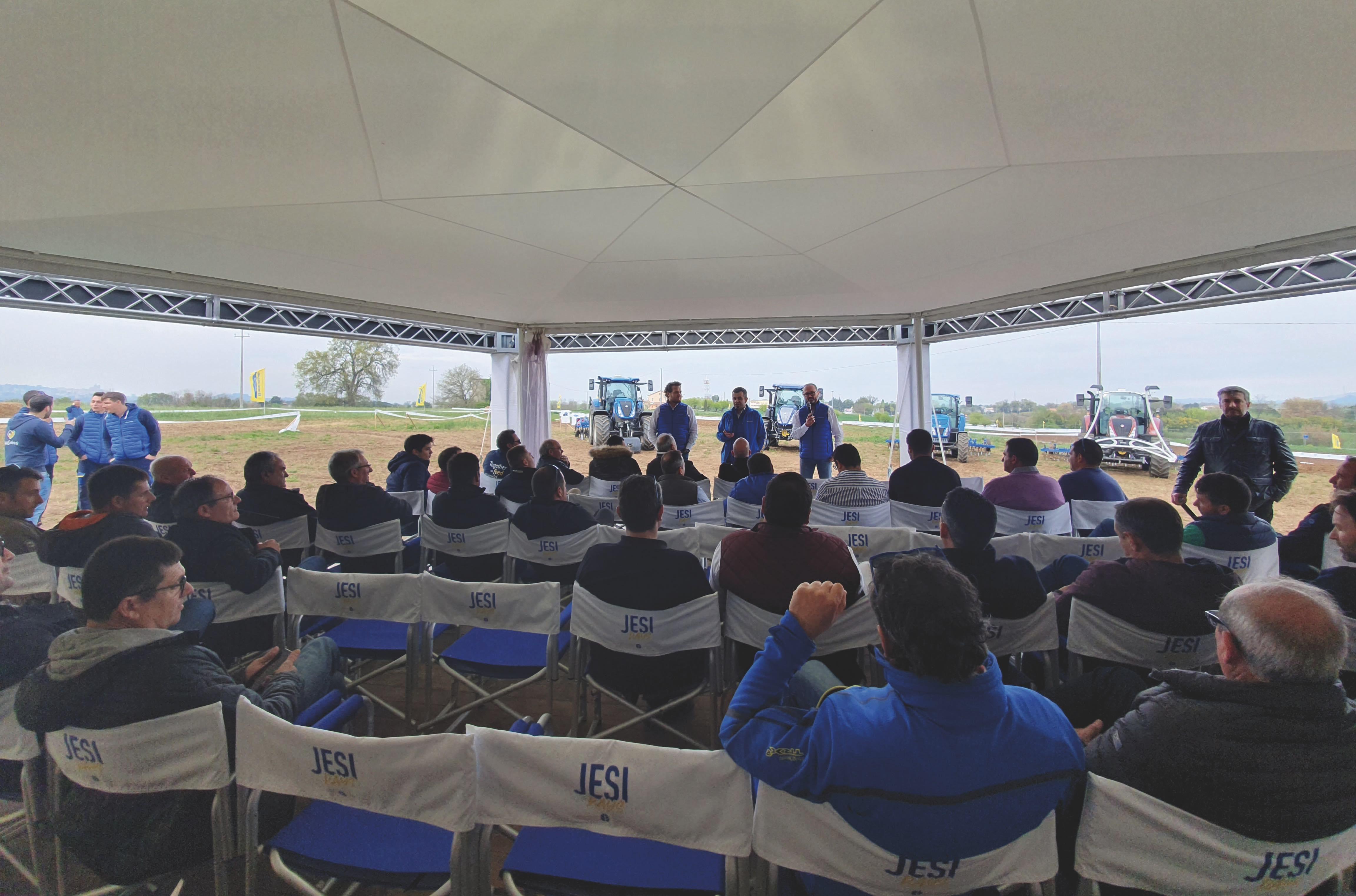Più di 1300 agricoltori in visita agli Jesi Days New Holland