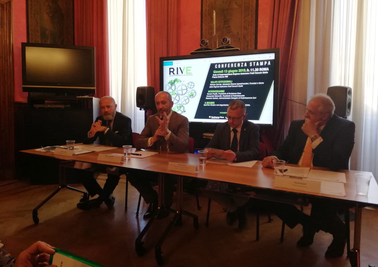 R.I.V.E., nuova partnership tra Pordenone Fiere e FederUnacoma