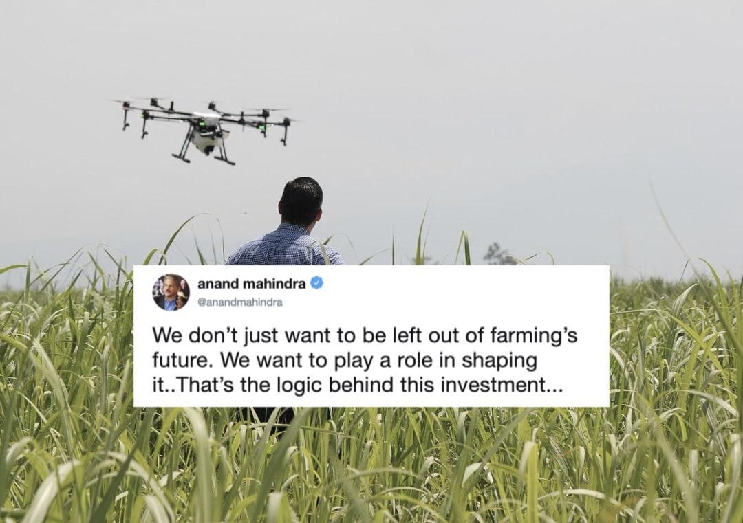 Sistemi di precision farming, Mahindra fa spesa in Svizzera