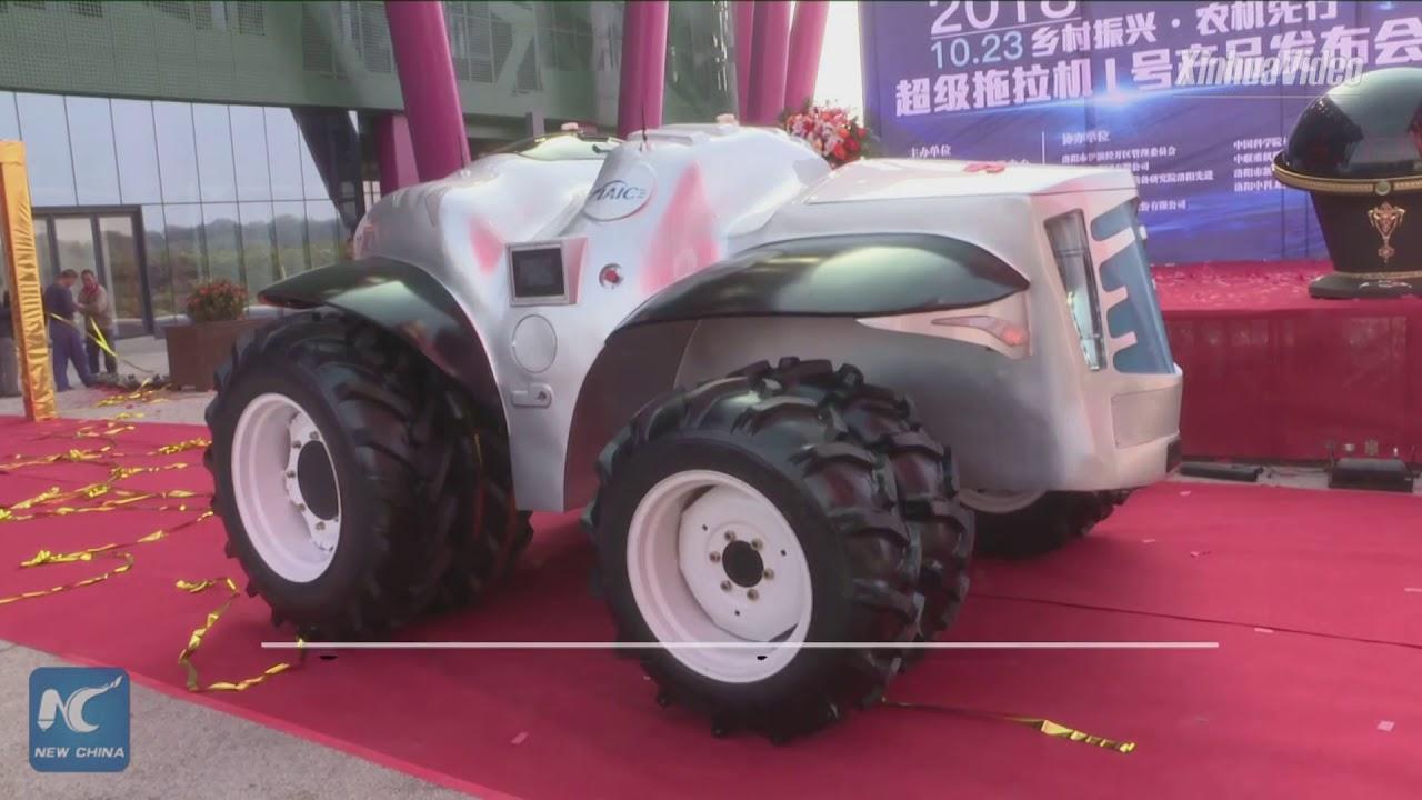 trattore autonomo cinese