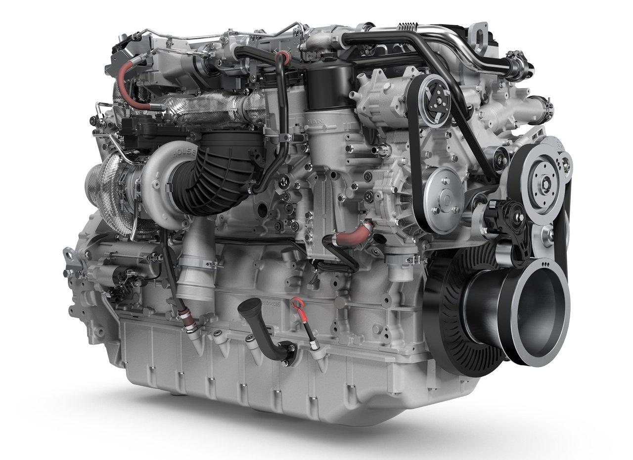 Nuovo motore MAN 6 cilindri da 16,2 litri