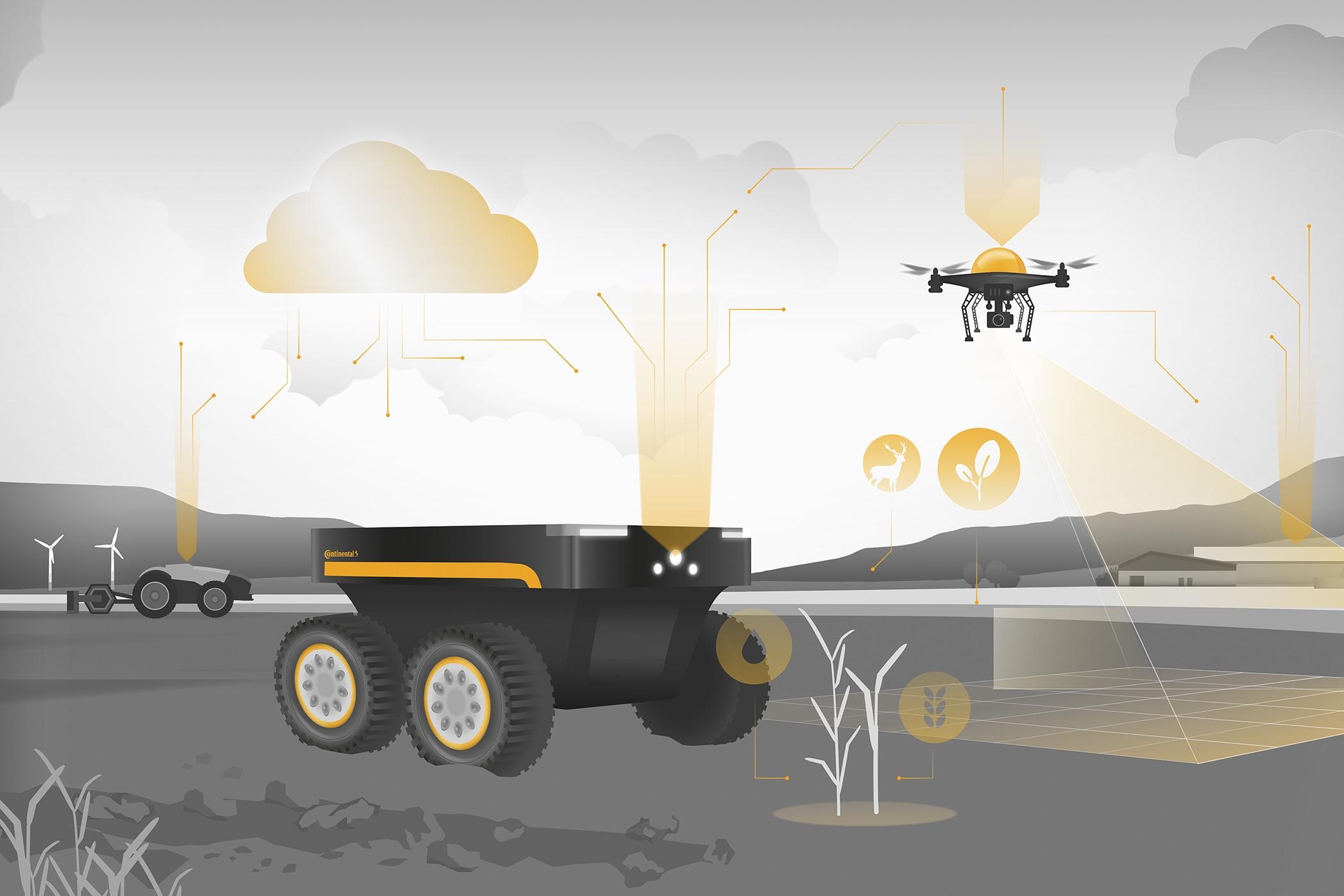 Continental si concentra sul business agro e sulla smart farming