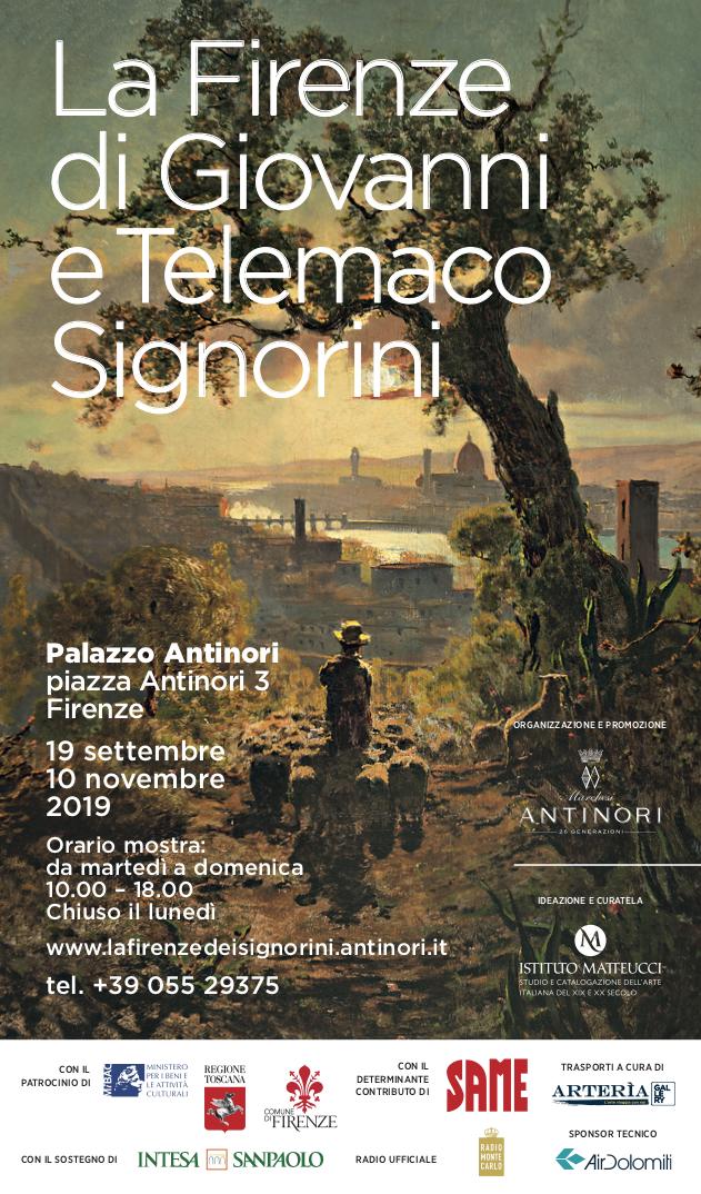 Mostra 'La Firenze di Giovanni e Telemaco Signorini'