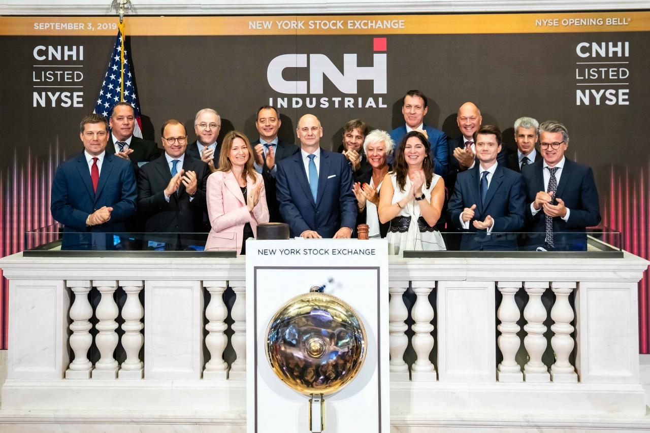 CNH Industrial presenta la propria strategia 'Transform 2 Win'