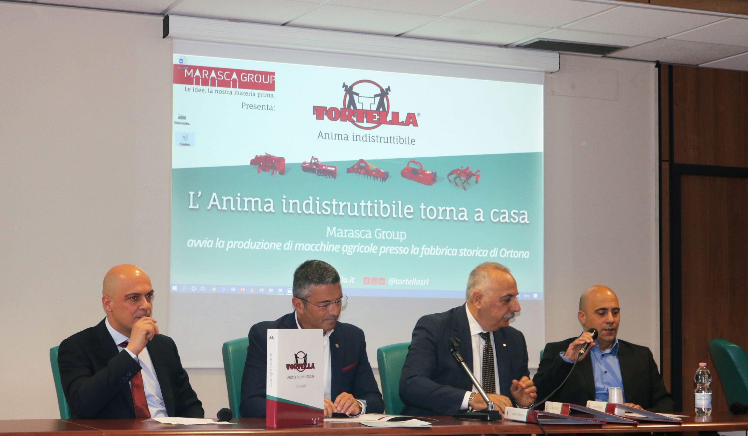 Marasca Group rimette in moto il marchio Tortella
