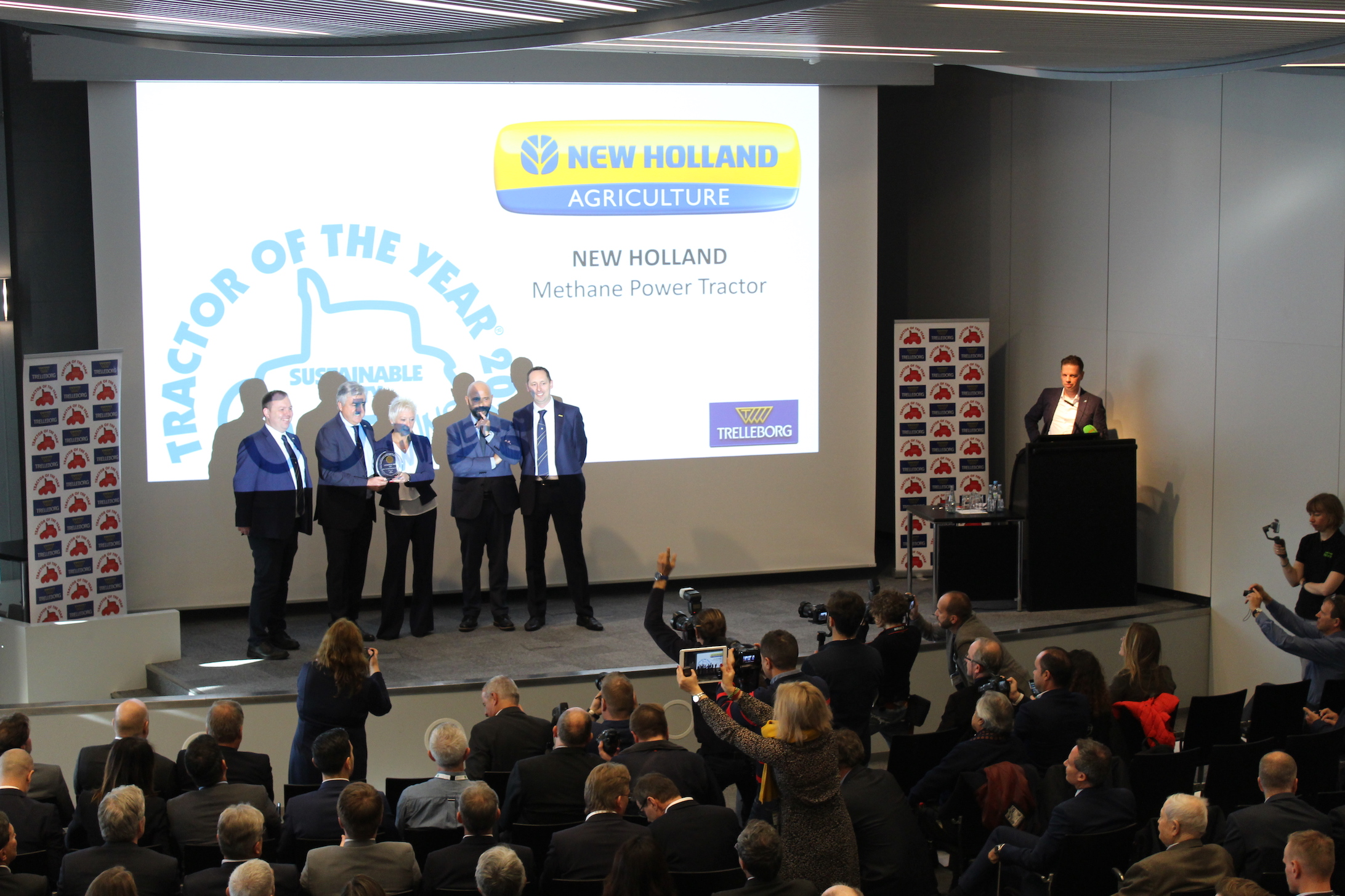 Sustainable Toty 2020: New Holland Methane Power
