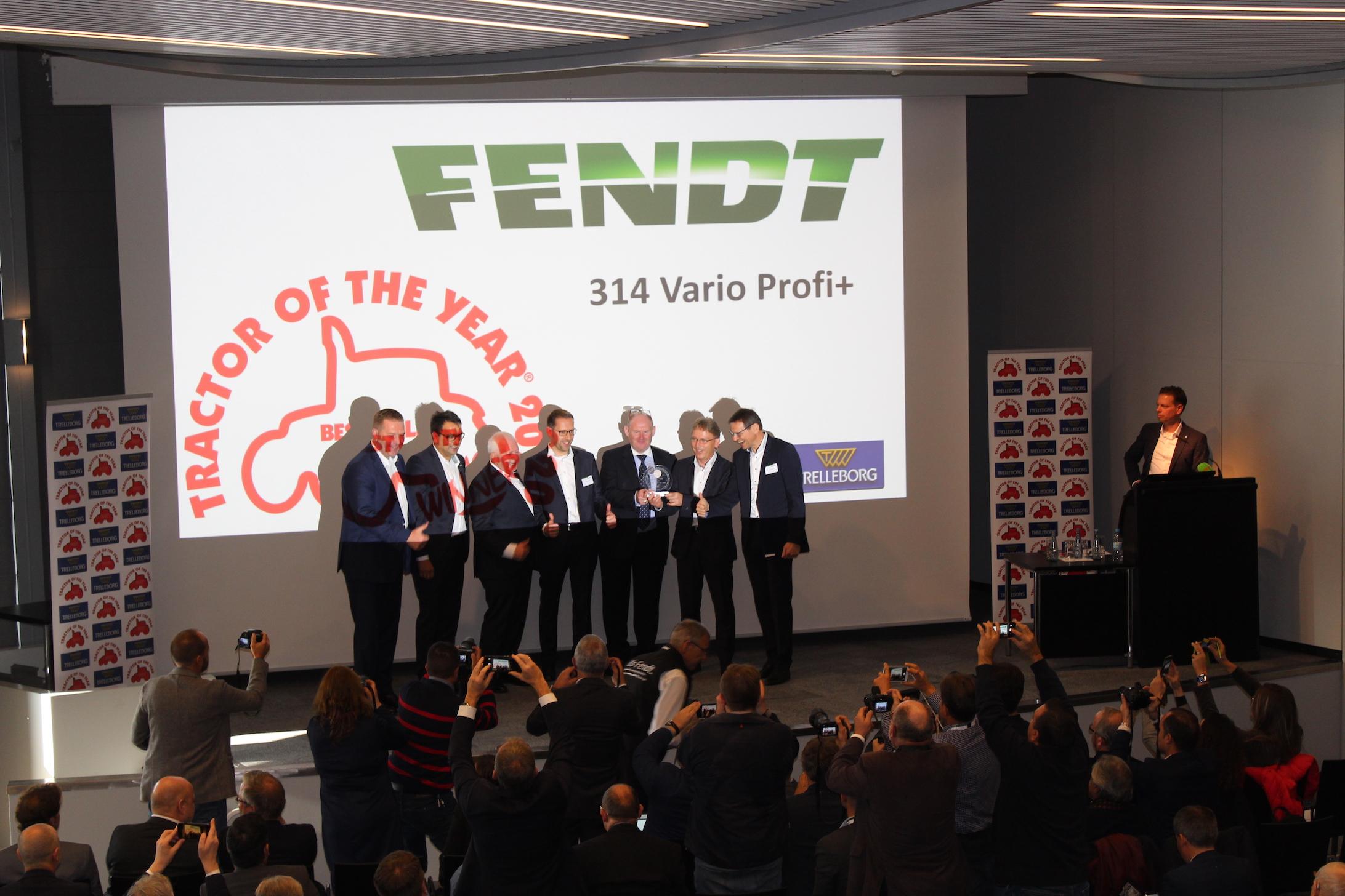 Best Utility 2020: Fendt314 Vario Profi+