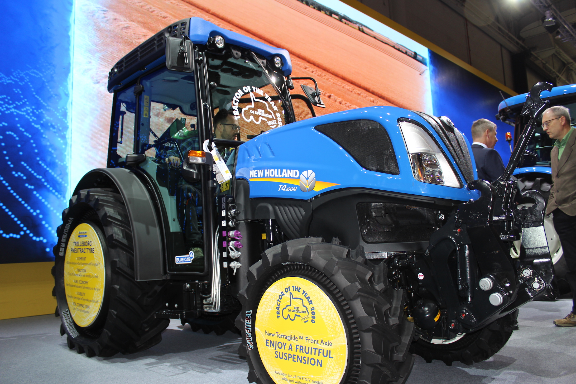 Best of Specialized 2020: New Holland T4.110 N