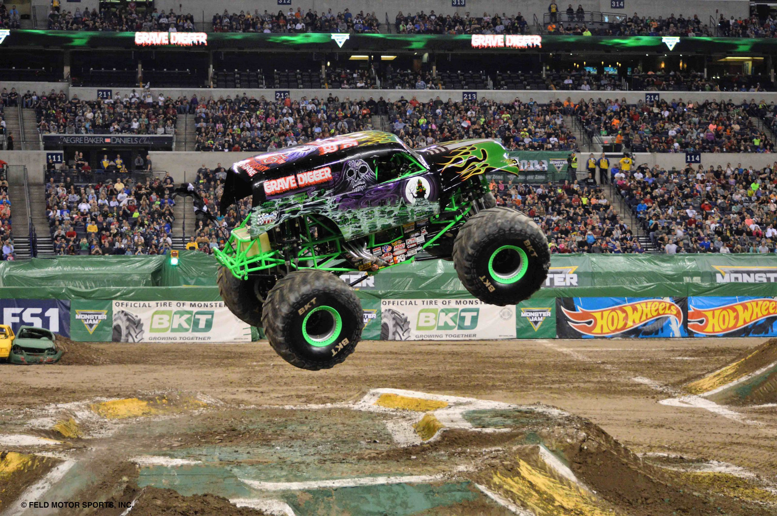 BKT Monster Jam Tire