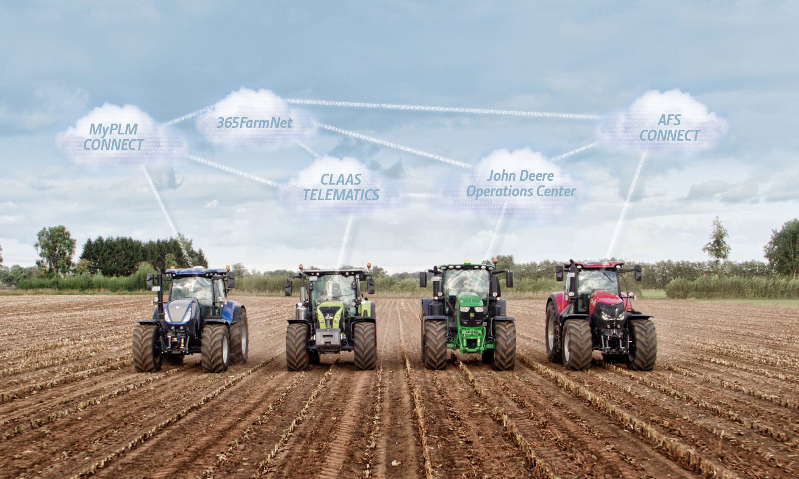 Anche Case IH, New Holland e Steyr sposano il DataConnect
