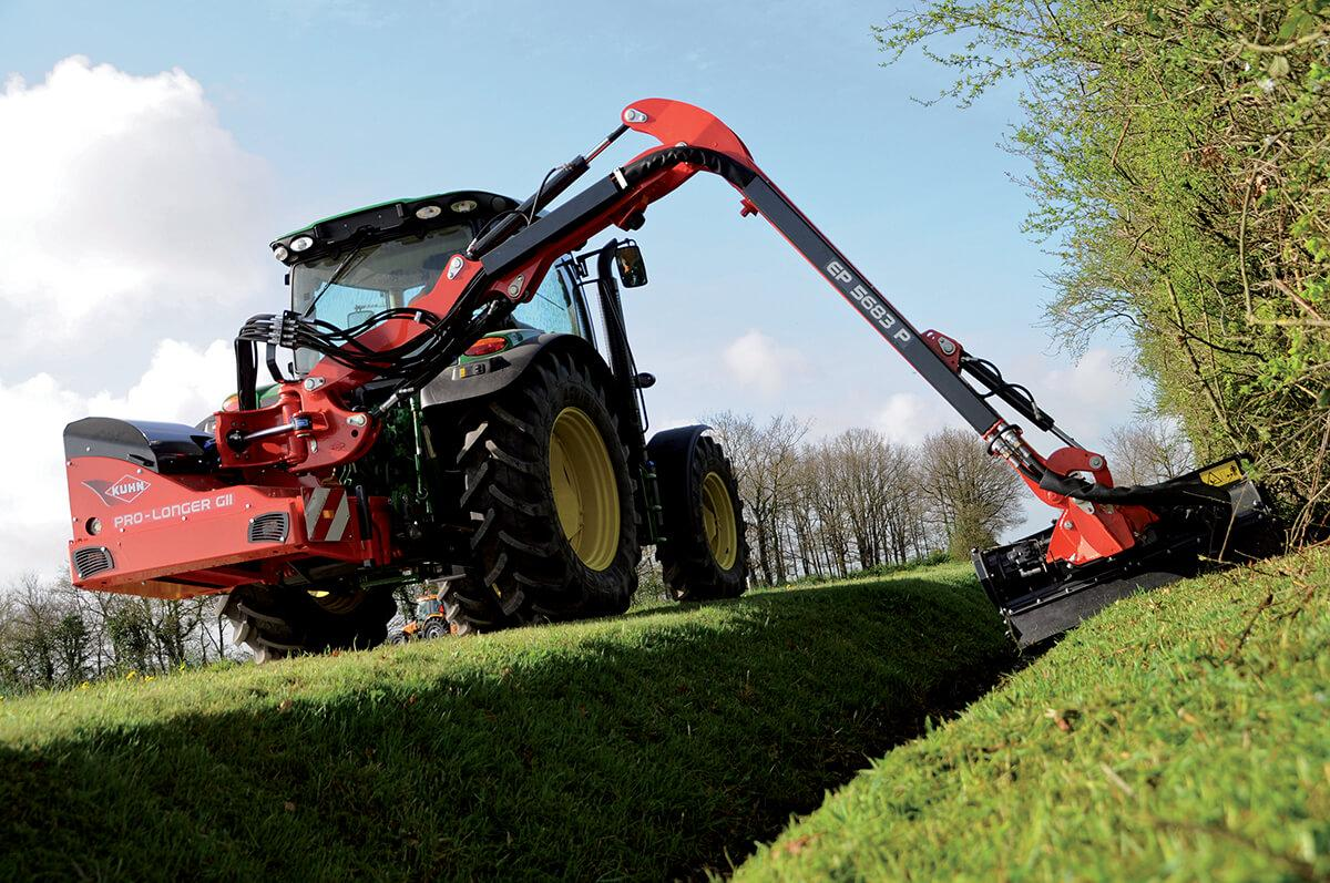 Kuhn Pro-Longer in azione