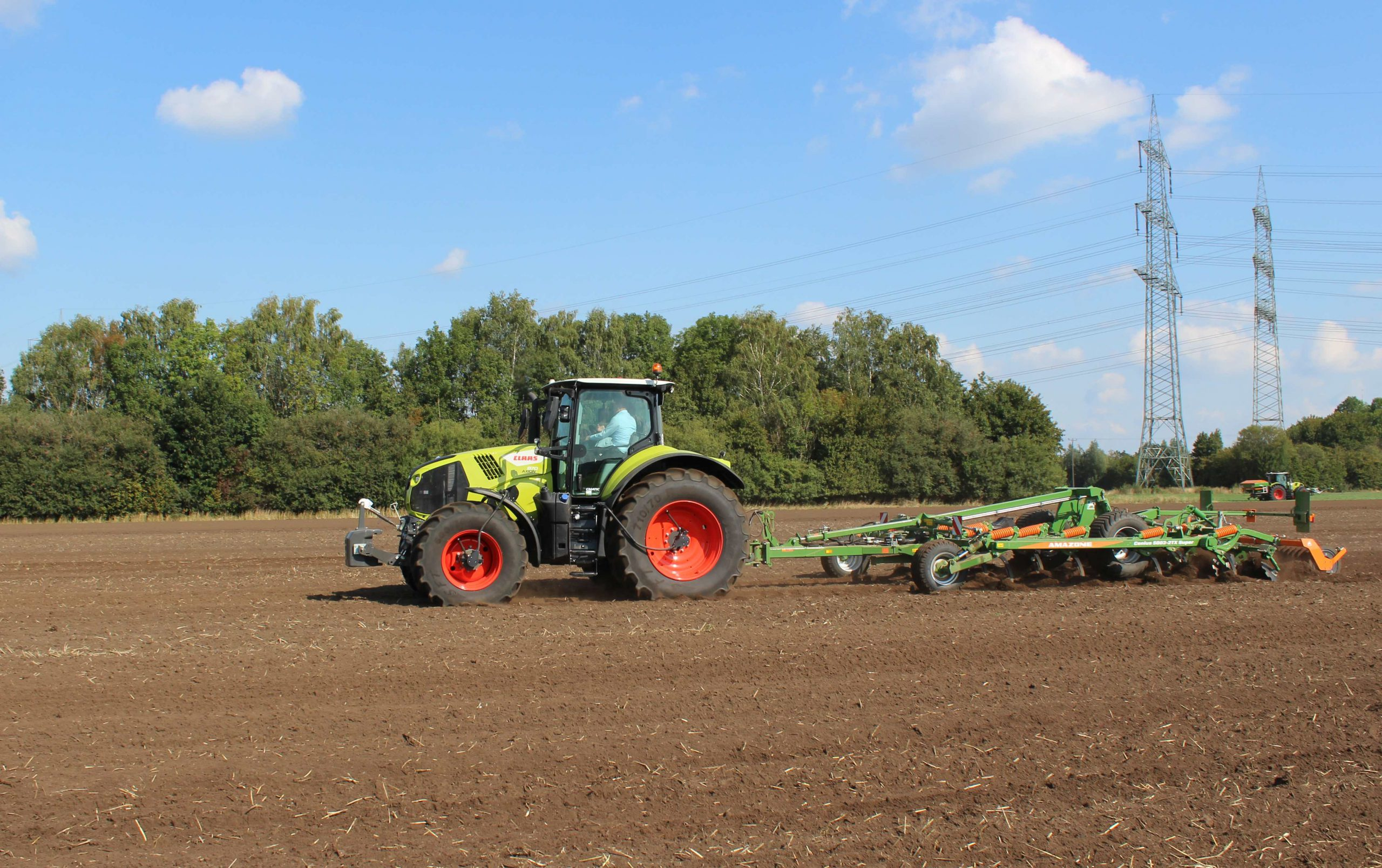 Claas Axion 800 Stage V