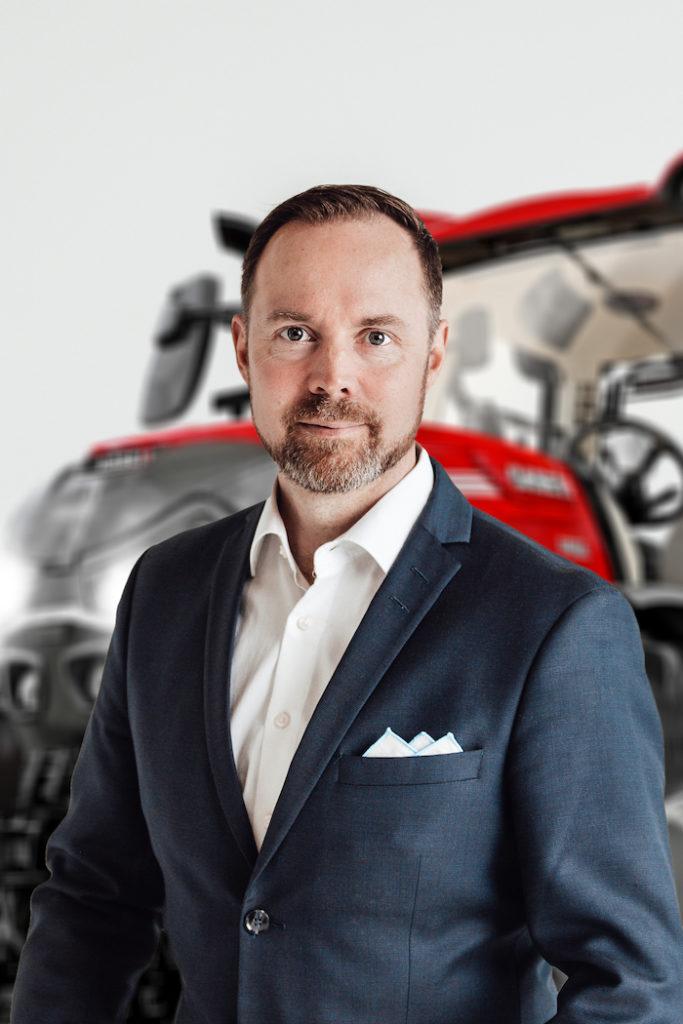 Ville Mansikkamäki Vice President Case IH