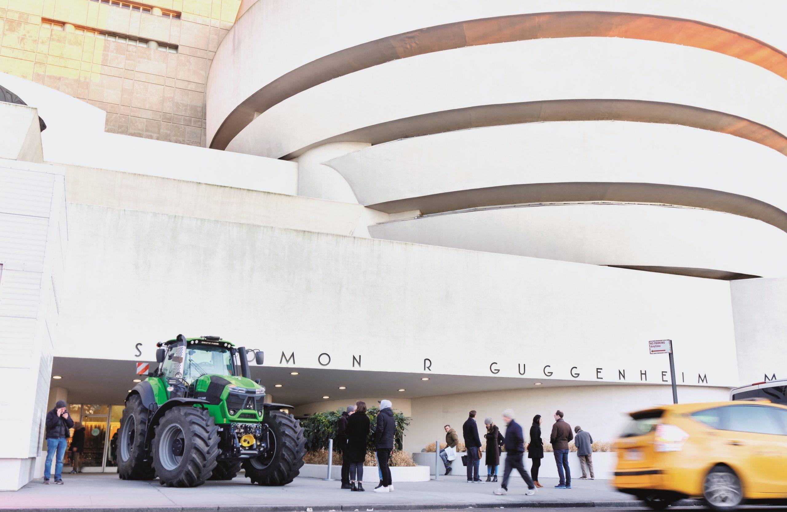 Deutz-Fahr protagonista al Guggenheim Museum di New York