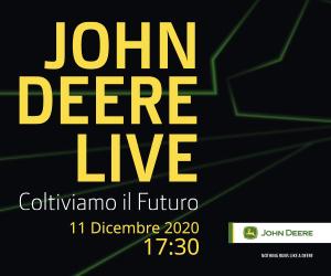 John Deere live 11 dicembre