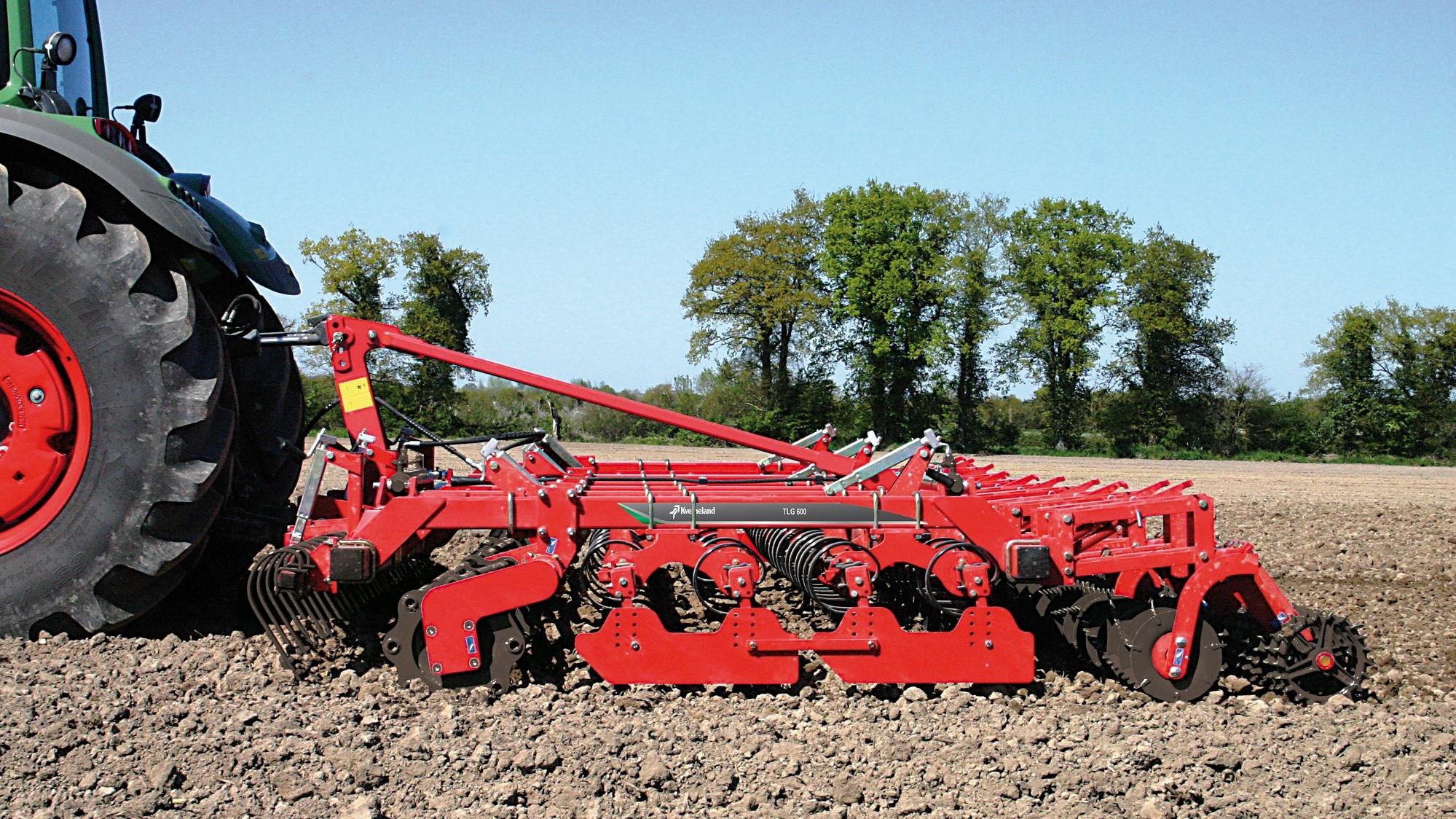 Kverneland ha una gamma di vibrocoltivatori ad alta resa qualitativa