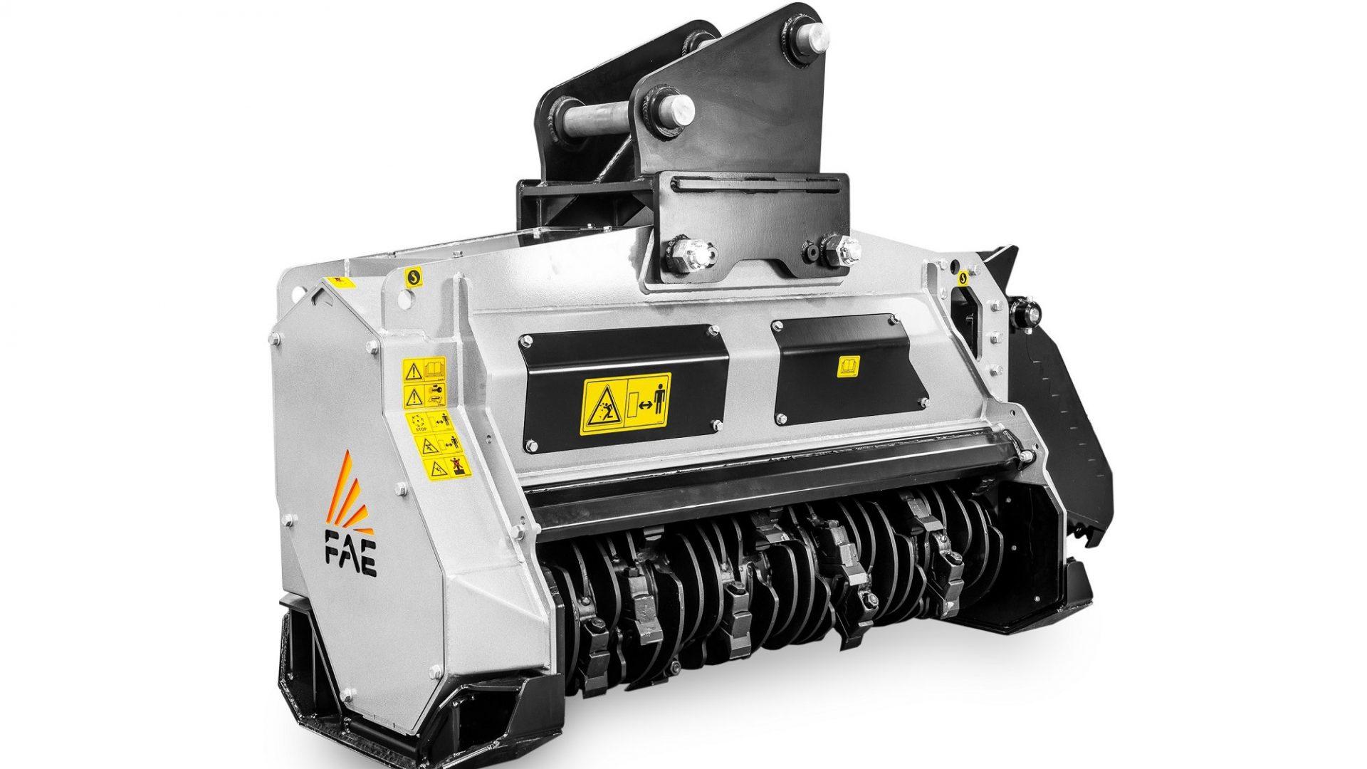 FAE BL4/EX/VT è la nuova trincia ad alte prestazioni per escavatori idraulici