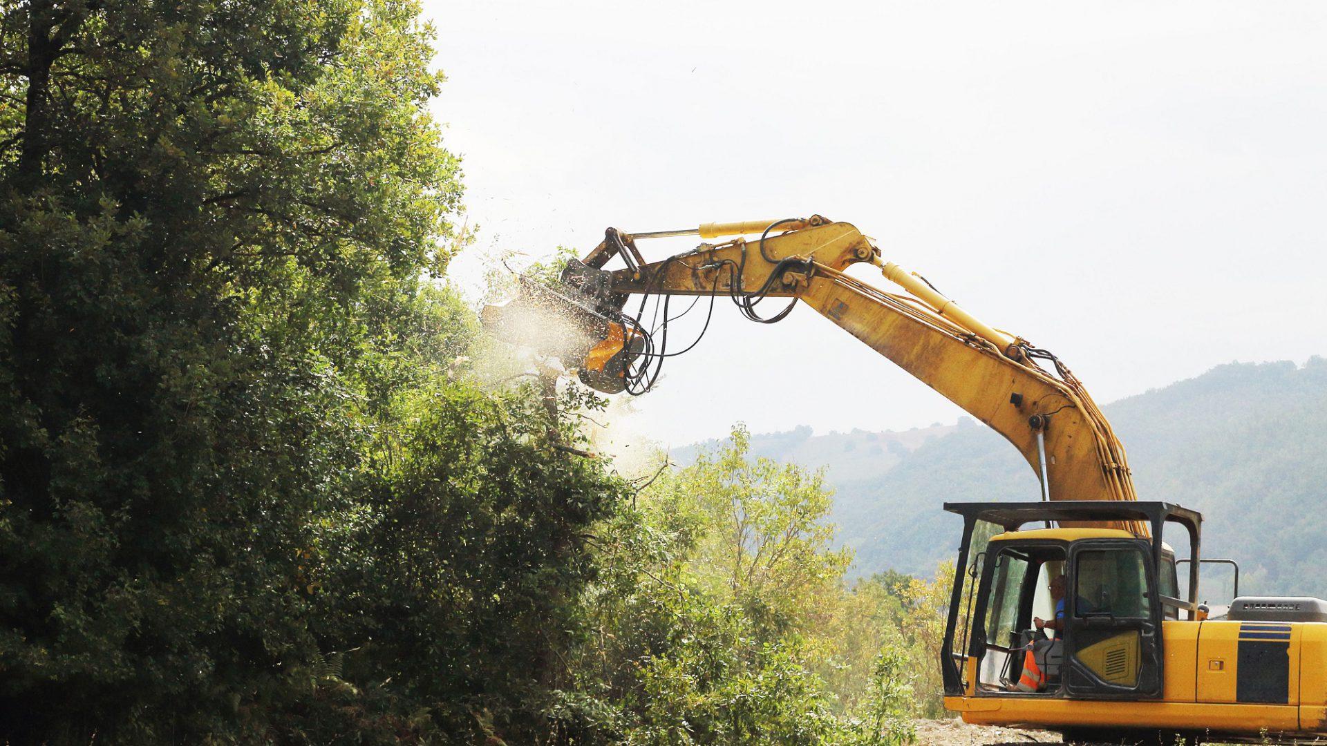 La gamma Femac prevede anche modelli per escavatori fino a 30 tonnellate